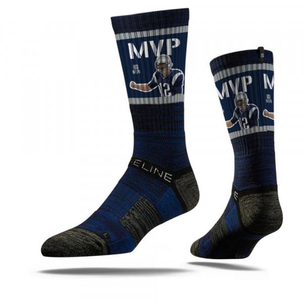 Tom Brady MVP New England NFL Socken