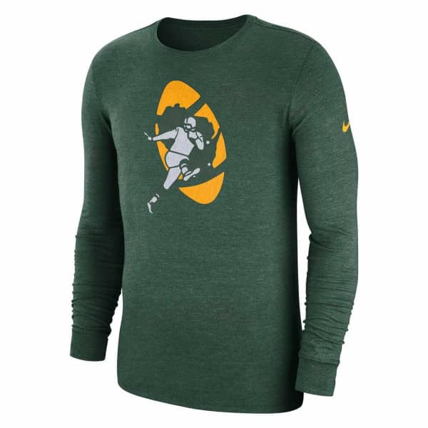 Green Bay Packers Historic Crackle NFL Long Sleeve Shirt