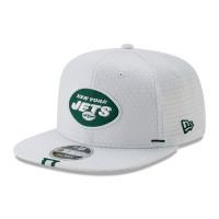 New York Jets 2019 NFL Training 9FIFTY Snapback Cap Weiß
