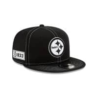 Pittsburgh Steelers 2019 NFL Sideline Black 9FIFTY Snapback Cap Road