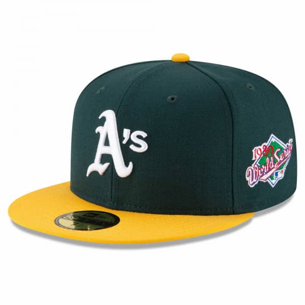 Oakland Athletics 1989 World Series Cooperstown 59FIFTY Fitted MLB Cap