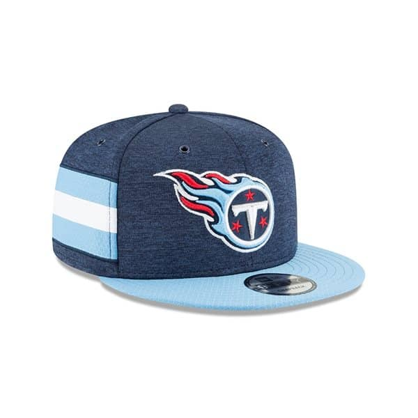 Tennessee Titans 2018 NFL Sideline 9FIFTY Snapback Cap Home