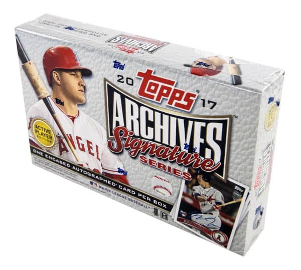 2017 Topps Archives Signature Series Baseball Hobby Box MLB