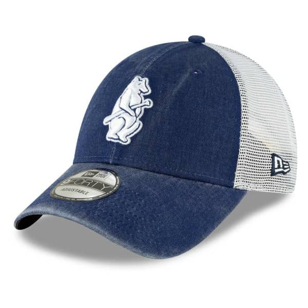 Chicago Cubs 1914 Cooperstown New Era 9FORTY Trucker MLB Cap