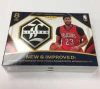 2016/17 Panini Limited Basketball Hobby Box NBA