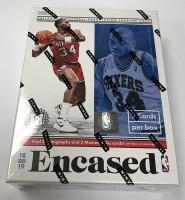 2018/19 Panini Encased Basketball Hobby Box NBA