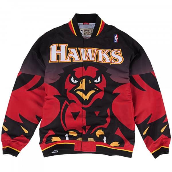 Atlanta Hawks 1995-1996 Authentic Mitchell & Ness Warm Up NBA Jacke