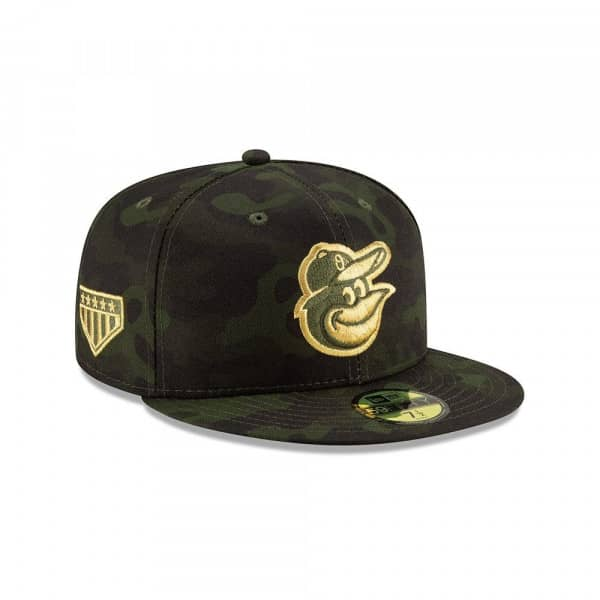 innovative design 7d24d c24fe New Era Baltimore Orioles 2019 Armed Forces Day On-Field 59FIFTY Fitted MLB  Cap   TAASS.com Fan Shop