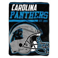 Carolina Panthers Super Plush NFL Decke