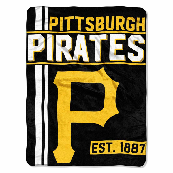Pittsburgh Pirates Super Plush MLB Decke