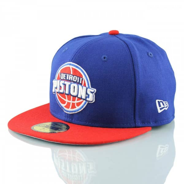 Detroit Pistons 2-Tone Logo 59FIFTY Fitted NBA Cap