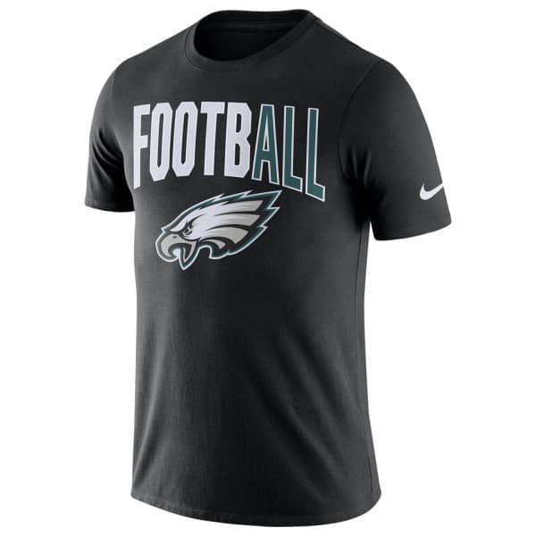 Philadelphia Eagles Football Practice Dri-FIT NFL T-Shirt Schwarz