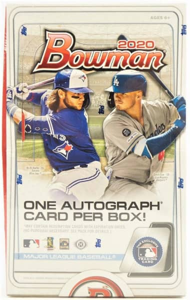 2020 Bowman Baseball Hobby Box MLB