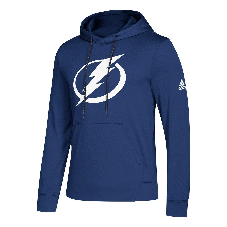 detailed look 70c6c 2ba66 adidas Tampa Bay Lightning NHL Pullover Hood Sweatshirt Blau   TAASS.com  Fanshop