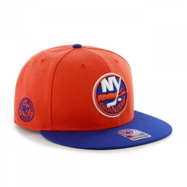 7ab162fbb15 47 Brand New York Islanders 2-Tone Back Slide Snapback NHL Cap ...