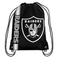 Oakland Raiders Cropped Logo NFL Turnbeutel
