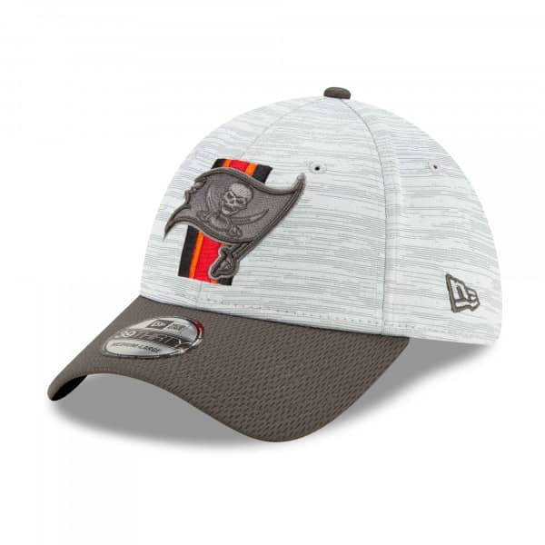 Tampa Bay Buccaneers 2021 NFL Offical Training New Era 39THIRTY Flex Fit Cap
