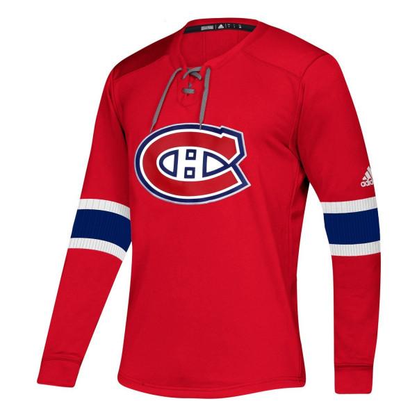 Montreal Canadiens NHL Platinum Long Sleeve Trikot
