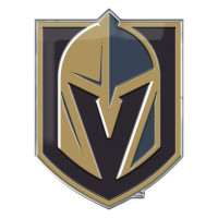 Vegas Golden Knights Aluminium Color NHL Team Emblem