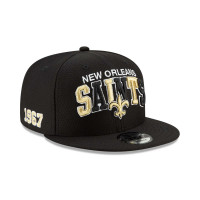 New Orleans Saints 2019 NFL 1990s Sideline 9FIFTY Snapback Cap Home