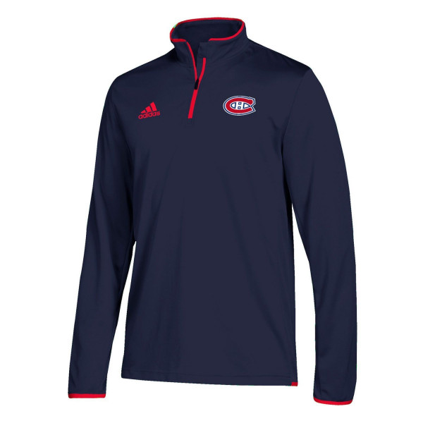 Montreal Canadiens Authentic 1/4 Zip NHL Jacke