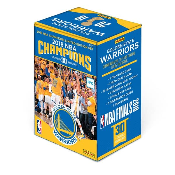 2018 Panini NBA Champions Golden State Warriors Basketball Box Set Trading Cards Collection