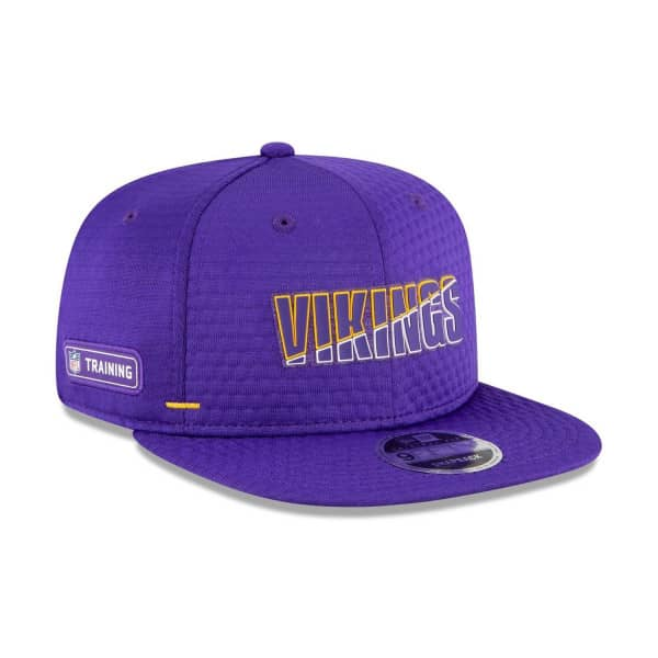 Minnesota Vikings 2020 Summer Sideline New Era Original Fit 9FIFTY Snapback NFL Cap