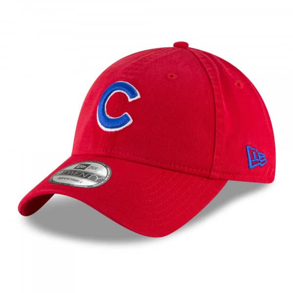 Chicago Cubs Core Classic 9TWENTY Adjustable MLB Cap Rot