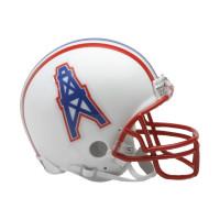 Houston Oilers NFL Throwback Mini Helmet (1981-96)