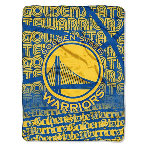 Golden State Warriors Super Plush NBA Decke