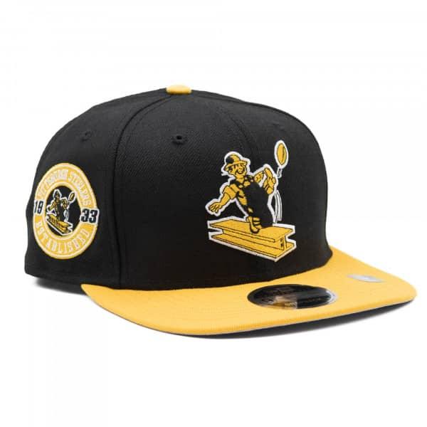 online store 9827a f6aaf New Era Pittsburgh Steelers Est. 1933 Throwback NFL Snapback Cap    TAASS.com Fan Shop