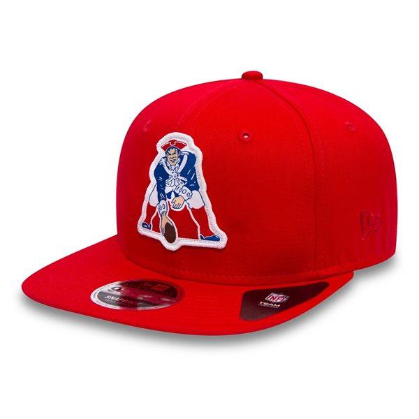 New England Patriots Classic Patch NFL Snapback Cap