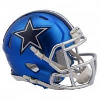 Dallas Cowboys NFL Blaze Alternate Speed Mini Helm