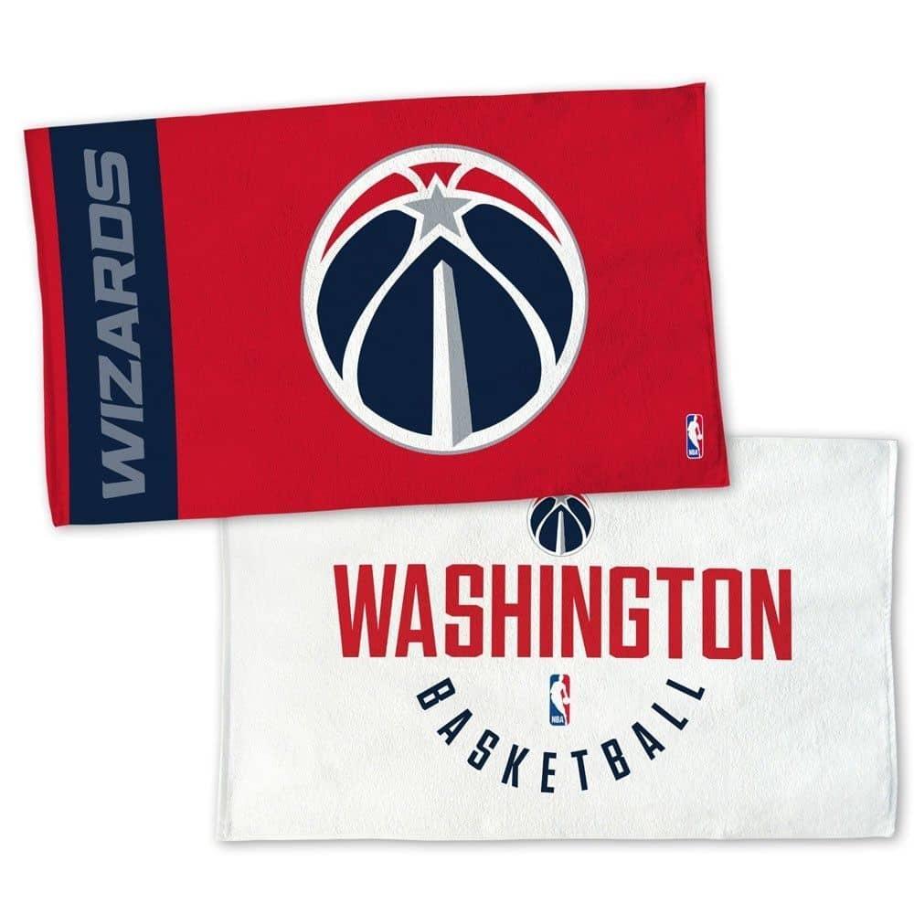 WinCraft Washington Wizards NBA On-Court Bench Handtuch ...