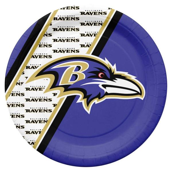 Baltimore Ravens Partyware NFL Pappteller Set (20 Stk.)