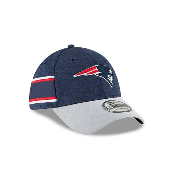 New England Patriots 2018 NFL Sideline 39THIRTY Flex Cap Home
