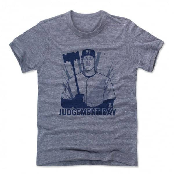 Aaron Judge NY Yankees Judgement Day MLB T-Shirt