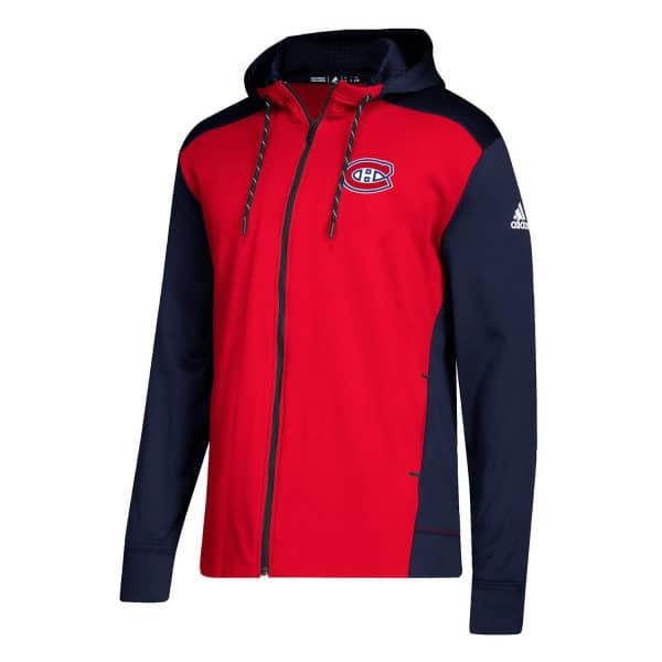online store 2ad15 819c8 Montreal Canadiens NHL Full-Zip Hoodie