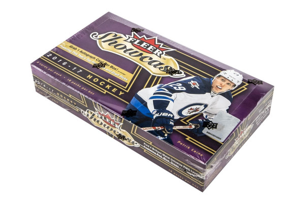 2016/17 Upper Deck Fleer Showcase Hockey Hobby Box NHL