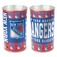 New York Rangers Metall NHL Papierkorb