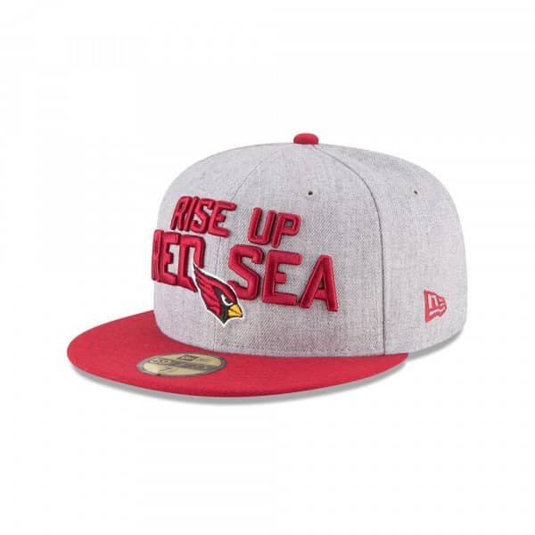 Arizona Cardinals 2018 NFL Draft 59FIFTY Fitted Cap