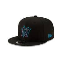 Miami Marlins Basic Logo MLB Snapback Cap