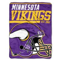 Minnesota Vikings Super Plush NFL Decke