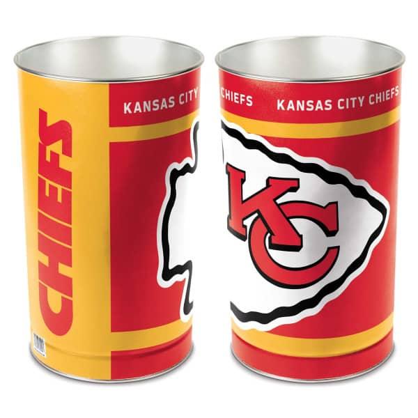 Kansas City Chiefs WinCraft Metall NFL Papierkorb