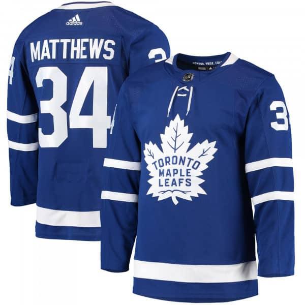 Auston Matthews #34 Toronto Maple Leafs Authentic Pro NHL Trikot Home