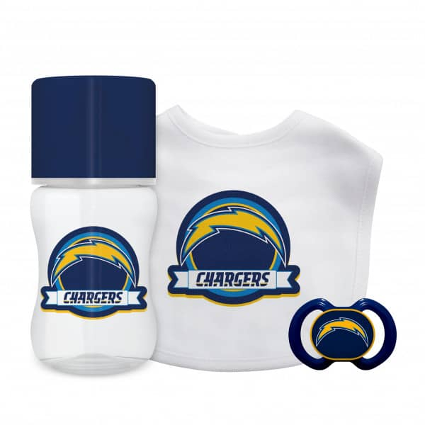 Los Angeles Chargers NFL Baby First Fan Set (3-Teilig)