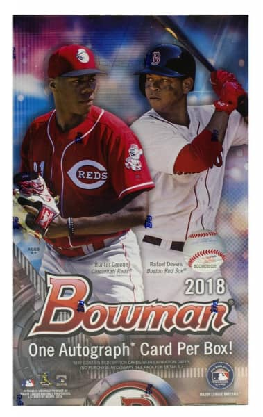 2018 Bowman Baseball Hobby Box MLB