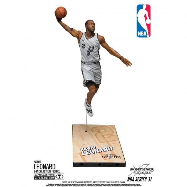 low priced 108c2 7eb09 McFarlane NBA Series 31 Kawhi Leonard San Antonio Spurs Action Figure (18 cm)    TAASS.com Fan Shop