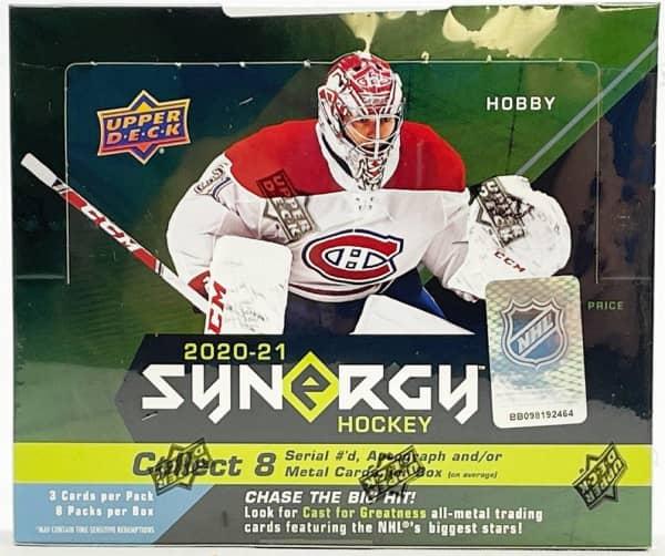 2020/21 Upper Deck Synergy Hockey Hobby Box NHL