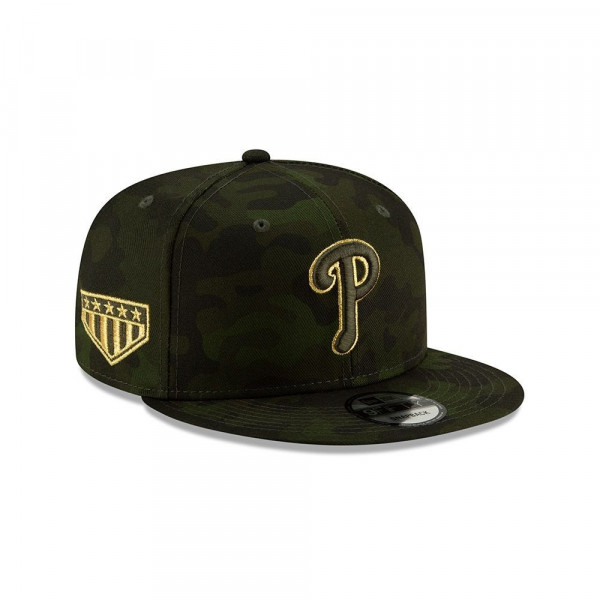 Philadelphia Phillies 2019 Armed Forces Day 9FIFTY Snapback MLB Cap